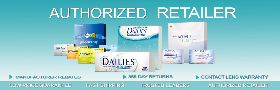 Authorized Retailer of Contact Lenses